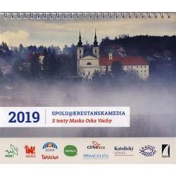 Stolní kalendář 2019 s Radiem PROGLAS a texty Marka Orka Váchy