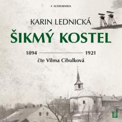 Audiokniha Šikmý kostel, Karin Lednická, čte Vilma Cibulková
