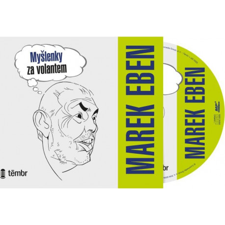Audiokniha Myšlenky za volantem. Marek Eben