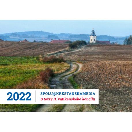 Stolní kalendář 2022 s Radiem PROGLAS a texty II. vatikánského koncilu Svatošové