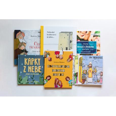 Výhodný balíček 5 knih edice Klíček (v hodnotě 1000 Kč) + 4 omalovánky ZDARMA