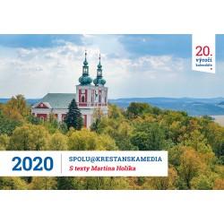 Stolní kalendář 2020 s Radiem PROGLAS a texty Martina Holíka