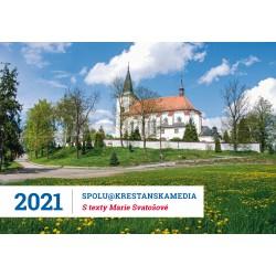 Stolní kalendář 2021 s Radiem PROGLAS s texty Marie Svatošové