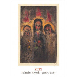 Kalendář Bohuslav Reynek- grafiky, kresby 2021
